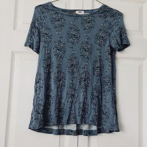 Old navy paisley shirt